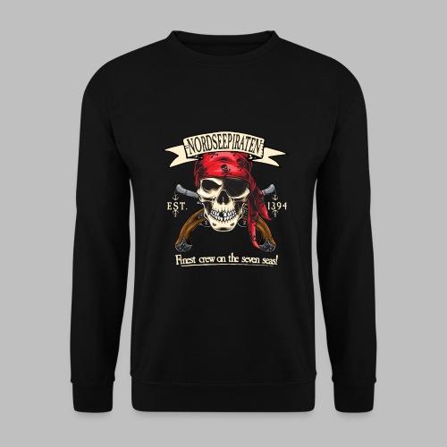 Nordseepiraten Piratenschädel Totenkopf Geschenke - Männer Pullover