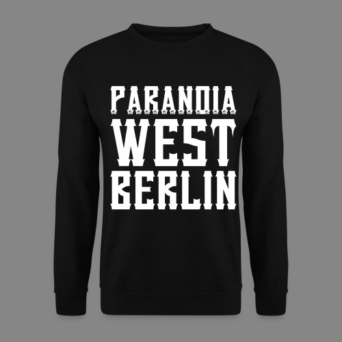 Paranoia 2016 png - Männer Pullover