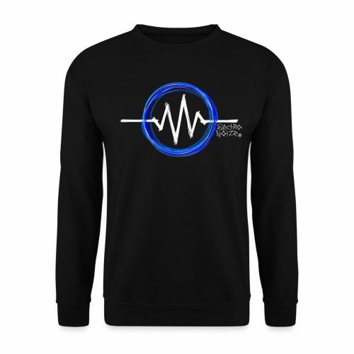 ElectroNoize Logo BLUE PX - Männer Pullover