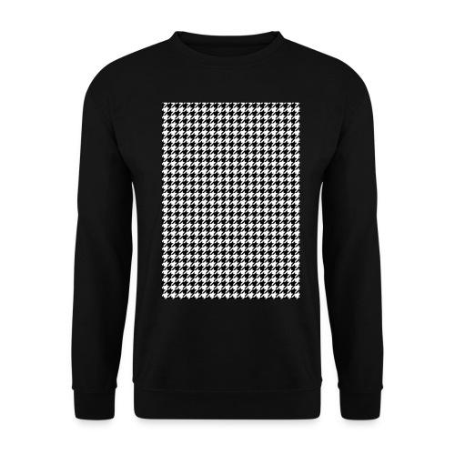 pied de poule v12 final01 - Mannen sweater