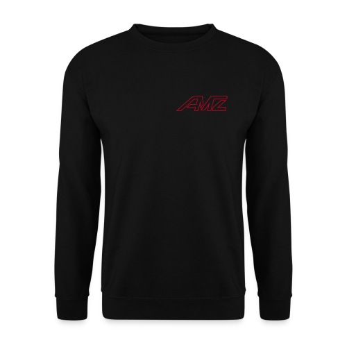 Logo AMZ rot schrift - Männer Pullover