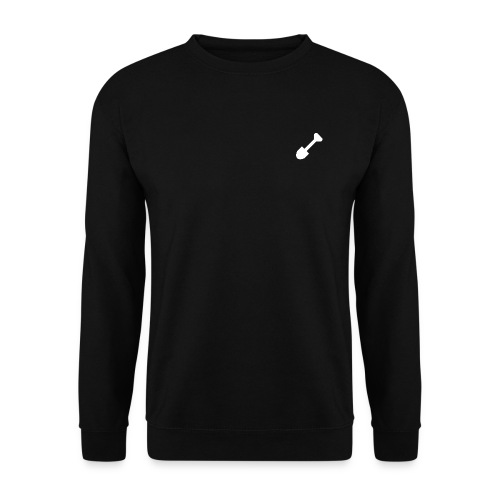 logo white png - Mannen sweater