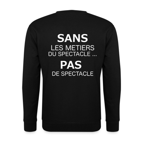 Metierspectacle png - Sweat-shirt Unisexe