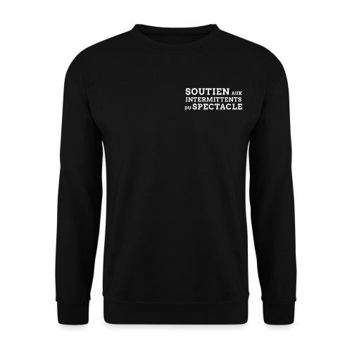 soutien aux intermittents du spectacle png - Sweat-shirt Homme