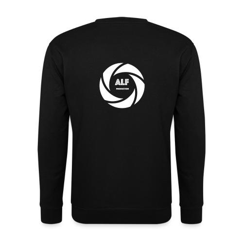 Logo Bianco - Felpa da uomo