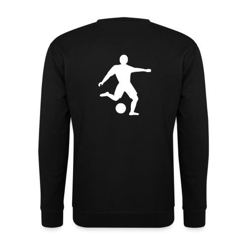 Fussballer schwarz - Männer Pullover