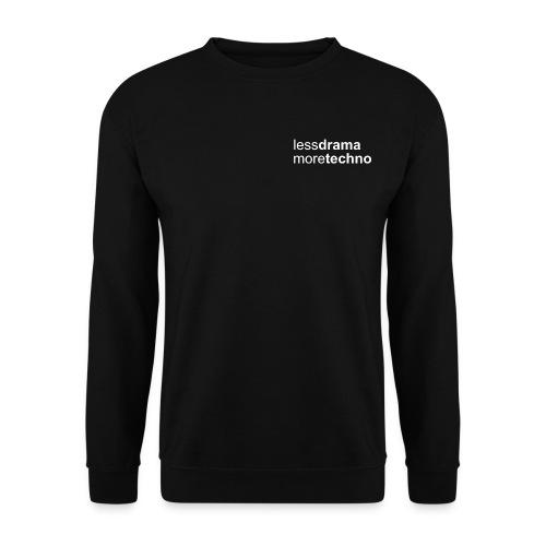 Less Drama bianco png - Men's Sweatshirt