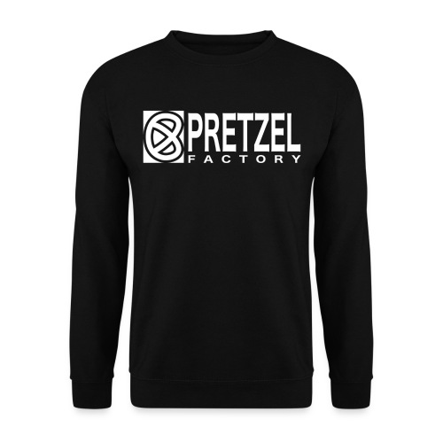 Pretzel Factory Logo Blanc - Sweat-shirt Unisexe