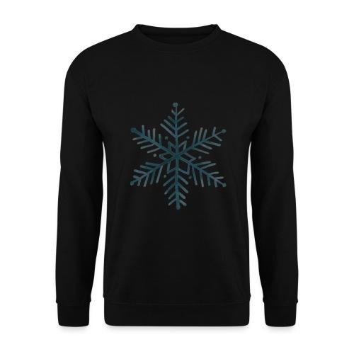 flocon de neige noir - Sweat-shirt Unisexe
