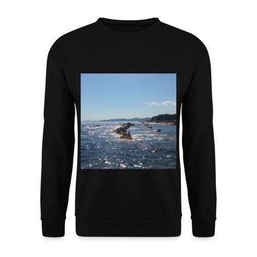 Mer avec roches - Sweat-shirt Unisexe