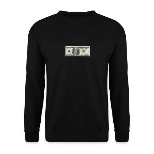 Dollar tegn box - Unisex sweater