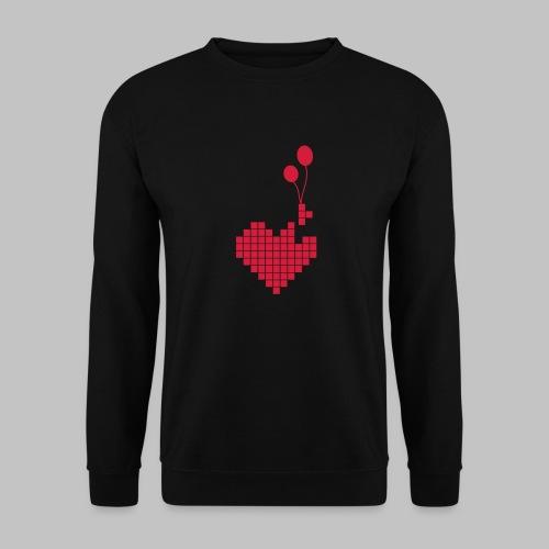 heart and balloons - Unisex Sweatshirt