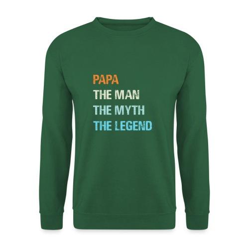 Papa de man de legende. Cadeau idee vaderdag. - Unisex sweater