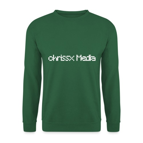 chrissx Media white - Unisex Sweatshirt