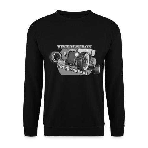 hotrod vintage grau - Unisex Pullover