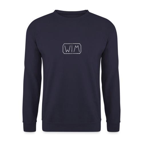 WIM white - Unisex sweater