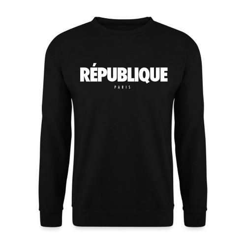 REPUBLIQUE Paris - Sweat-shirt Unisexe