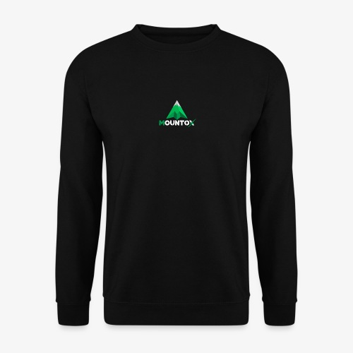 Mountox White - Unisex sweater