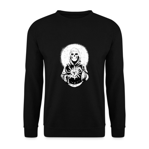 ✦ Halo blanco de la Santa Muerte ✦ - Unisex Pullover