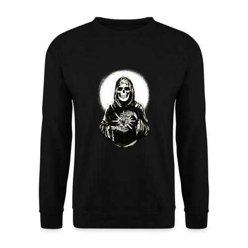 ✦ Halo negro de la Santa Muerte ✦ - Unisex Pullover