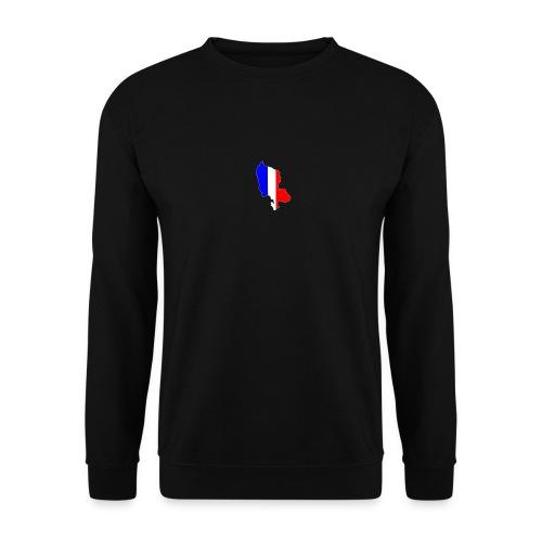 Carte Territoire de Belfort bleu blanc rouge - Sweat-shirt Unisexe