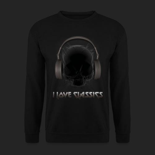 I love classics Black - Sweat-shirt Unisexe