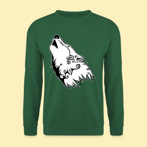 Le Loup de Neved (version contour blanc) - Sweat-shirt Unisexe