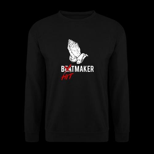 HitMaker Blanc - Sweat-shirt Unisexe