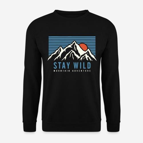 Berg bleiben wild - Unisex Pullover