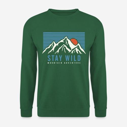 mountain stay wild - Unisex Pullover