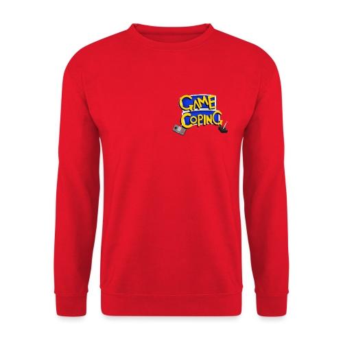 Game Coping Logo - Unisex Sweatshirt