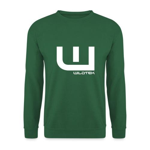 Wildtek Logo White - Unisex Sweatshirt