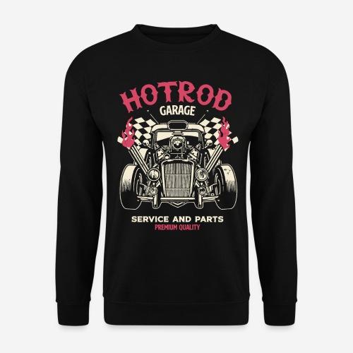 hotrod vintage cars - Unisex Pullover