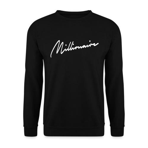 millionairee png - Unisex Sweatshirt