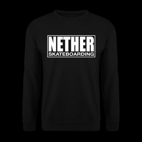 Nether Skateboarding T-shirt Black - Felpa unisex