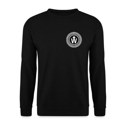 wit logo transparante achtergrond - Unisex sweater
