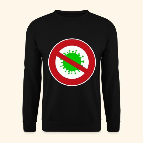 Virusstop gross - Unisex Pullover