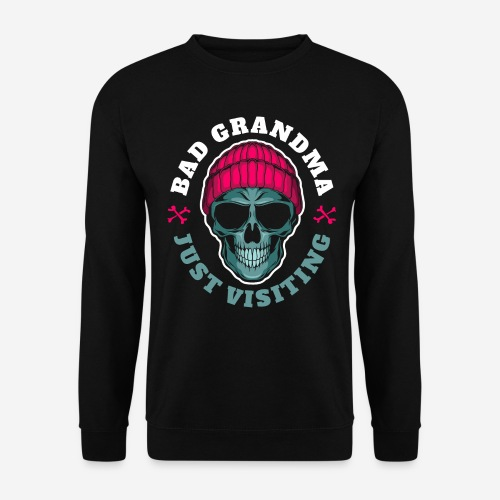 bad oma Großmutter - Unisex Pullover