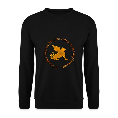 Slogan Escouade Griffons - Sweat-shirt Unisexe