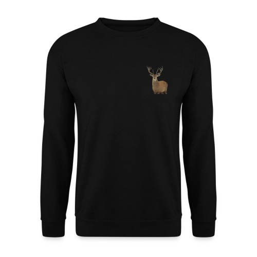 Cerf Low poly hoodie - Sweat-shirt Unisexe