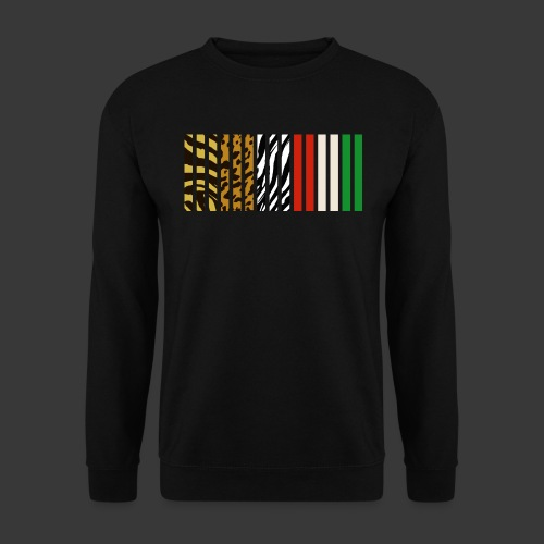 barcode5 png - Unisex Sweatshirt