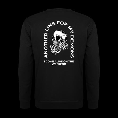 Skull & Roses Weekend - Unisex Sweatshirt