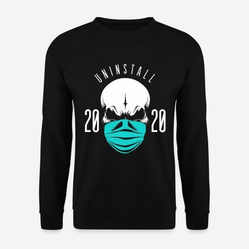 2020 deinstallieren - Unisex Pullover