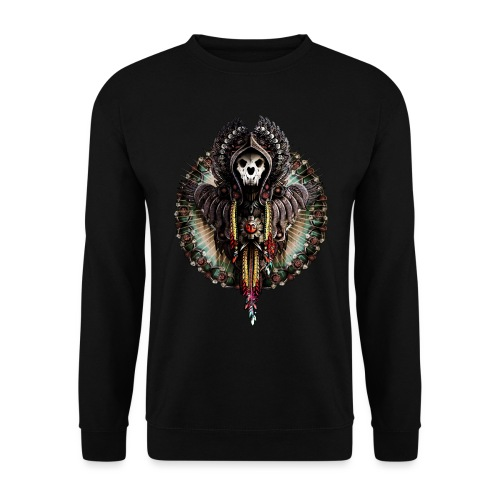 Cat Skull Demon - Bluza unisex