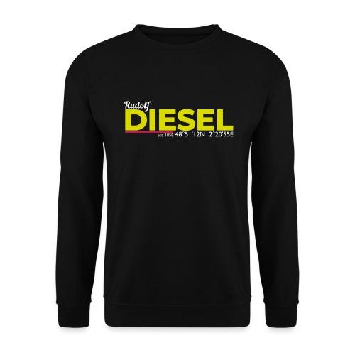 Rudolf Diesel geboren in Paris I Dieselholics - Unisex Pullover