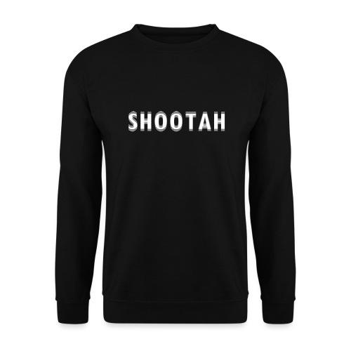 SHOOTAH (WHITE) - Unisex sweater