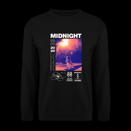 Midnight Astronaut Cosmic Pink - Unisex Sweatshirt