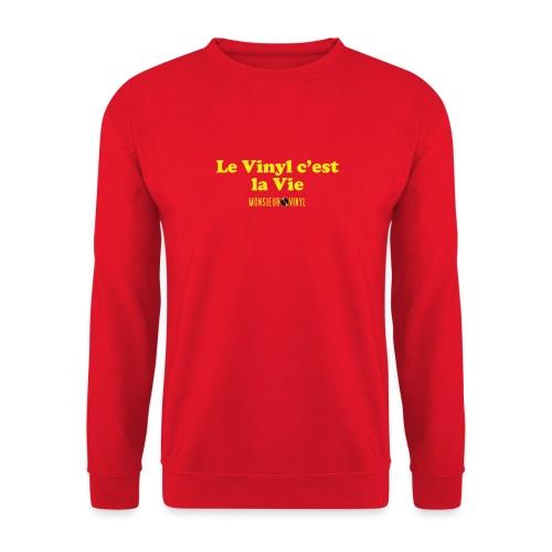Collection Le Vinyl c'est la Vie - Sweat-shirt Unisexe