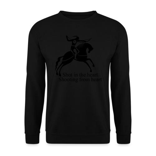 Shot in the Heart - Unisex Sweatshirt