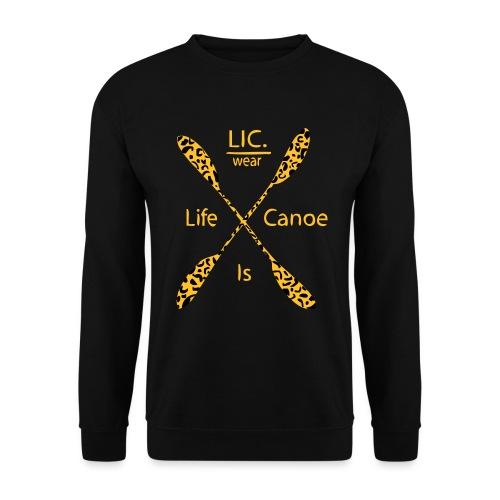 crossed peddel panter 1 - Unisex Sweatshirt